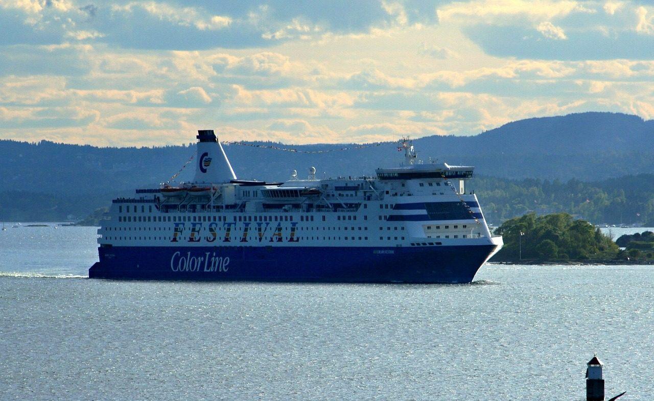 veerboot colorline Noorwegen